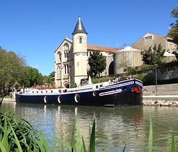 Canal du Midi luxury barge cruise, South of France