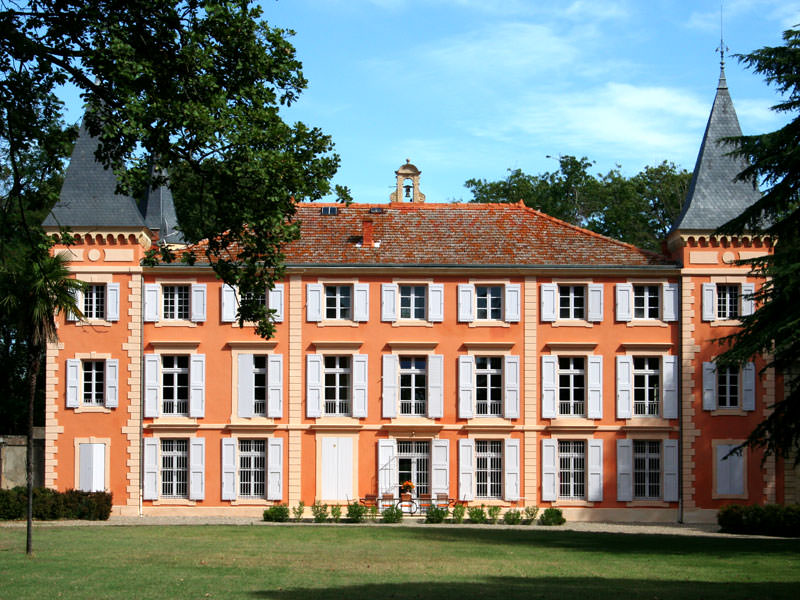A local chateau belonging to friends