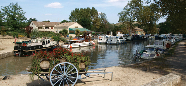 Our home port of Capestang
