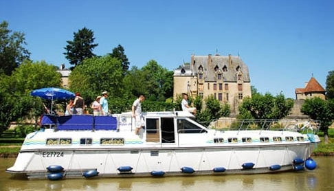 A lovely French Canal du Midi cruiser