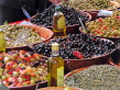 Olives at the Pezenas Languedoc market